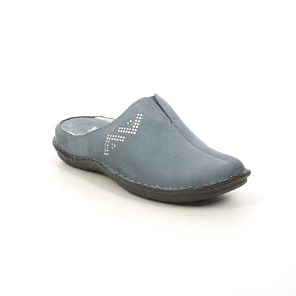 Walk in the City Slippers & Mules - Navy Nubuck - 4988X/3487X LAGOVI