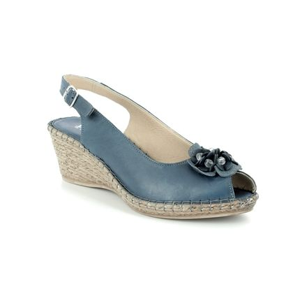 Walk in the City Espadrilles - Navy - 8103/28868 MOSEDIA
