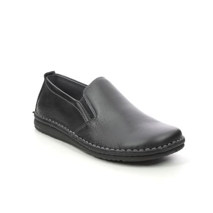 Walk in the City Slippers & Mules - Black leather - 2307/37660 NOBLEY