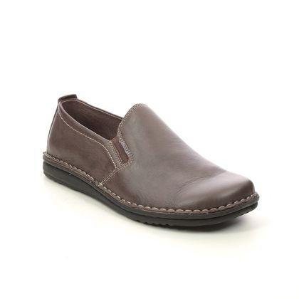 Walk in the City Slippers & Mules - Brown leather - 2307/37660 NOBLEY