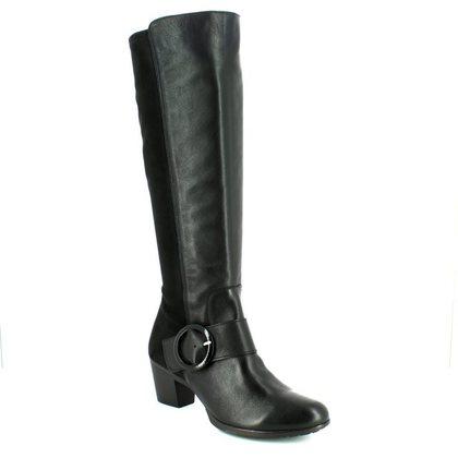 Wonders Knee High Boots - Black - G4704/67 HEXWILL