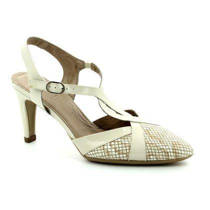 Wonders Heeled Shoes - Nude Patent - M2037/50 DALIANCE