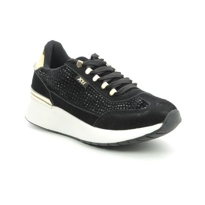 XTI Trainers - Black - 049506/01 SUSIE
