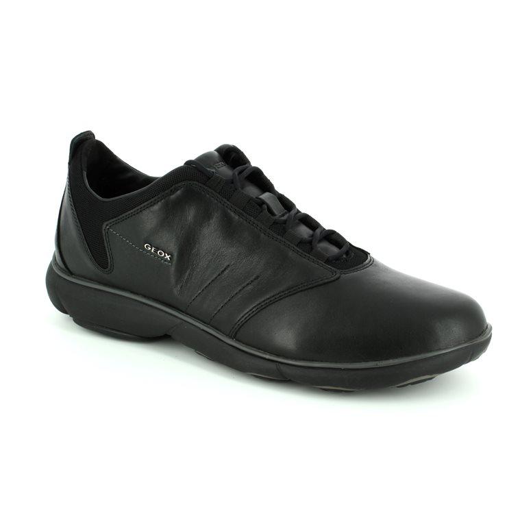 92d0f3bc17 Geox Casual Shoes - Black - U52D7A/C9999 NEBULA MEN ...