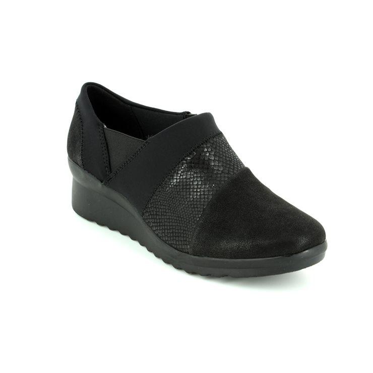 Clarks Caddell Denali Black Shoes