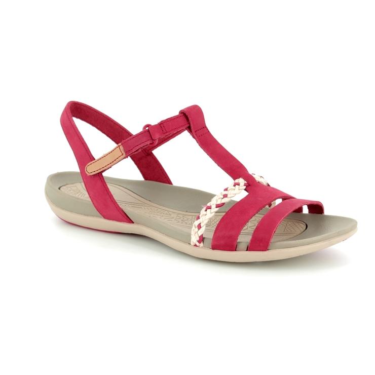 20cd0c20602 Clarks Sandals - Red - 2389 24D TEALITE GRACE ...