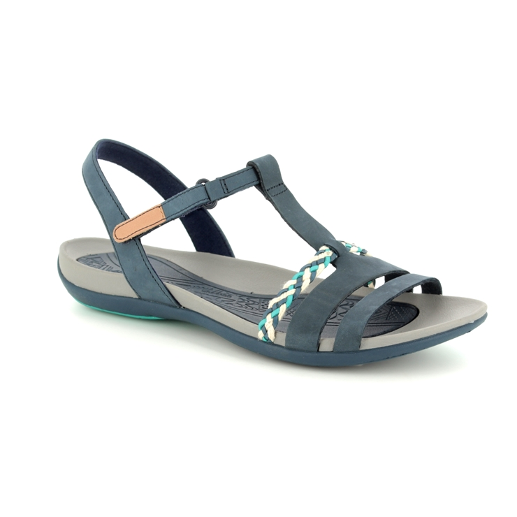 6e566b1fa003 Clarks Sandals - Navy - 2389 44D TEALITE GRACE ...