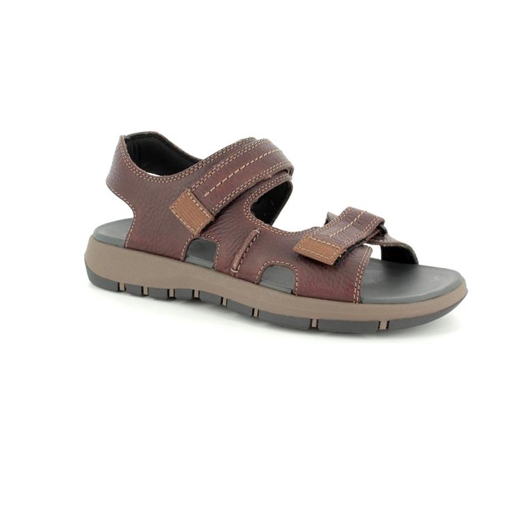 b8e32821e8d7 Clarks Sandals - Dark Brown - 3154 97G BRIXBY SHORE ...