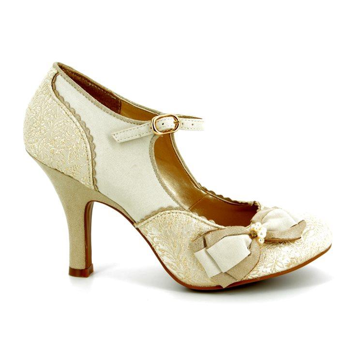 2a85809ce4712 ... Ruby Shoo High-heeled Shoes - Cream - 09155/75 MARIA ...