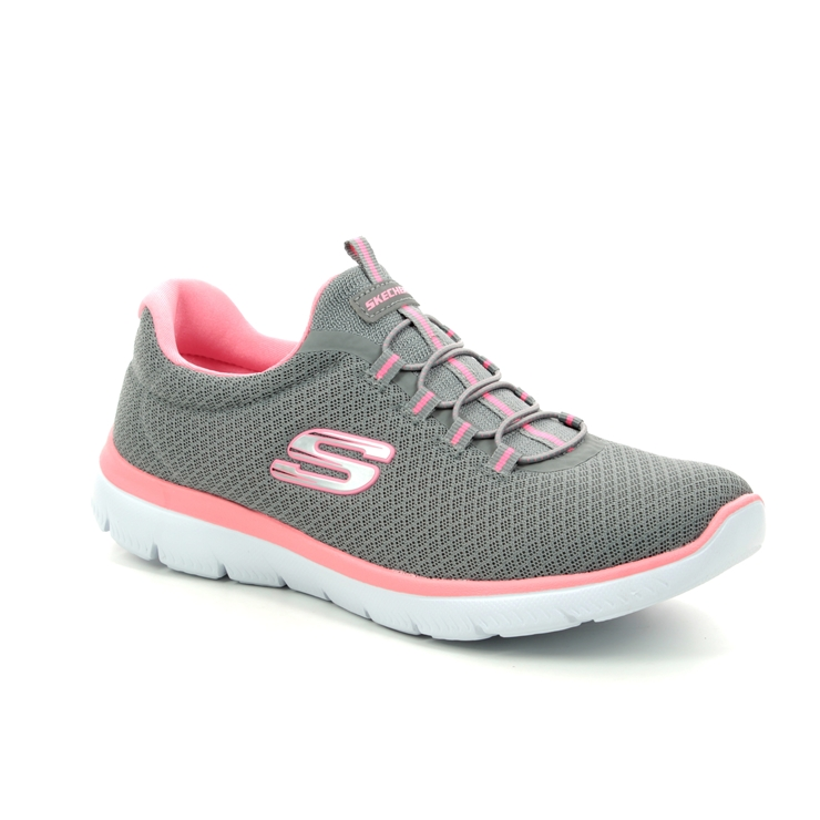 e8d23d2972 Skechers Trainers - Grey Pink - 12980 SUMMITS ...