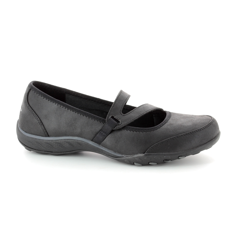 23209 BLK Black Mary Jane Shoes