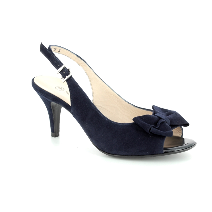 023586c0f6224 Peter Kaiser Heeled Sandals - Navy suede - 82127/104 BERINA ...