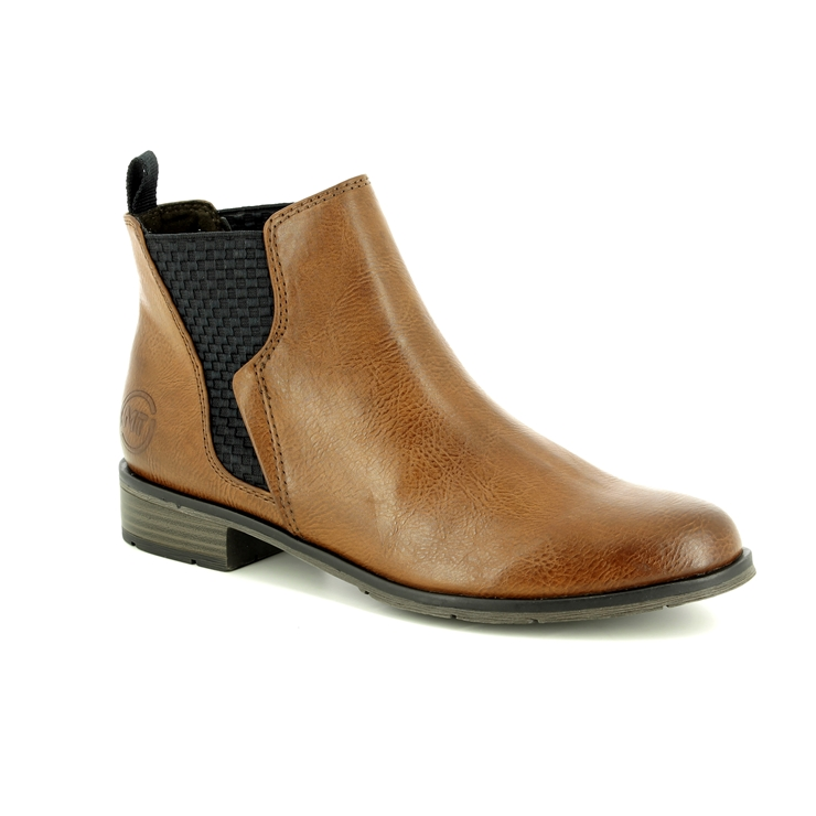 Marco Tozzi Rapall Chelsea 25040 31 372 Tan Chelsea Boots