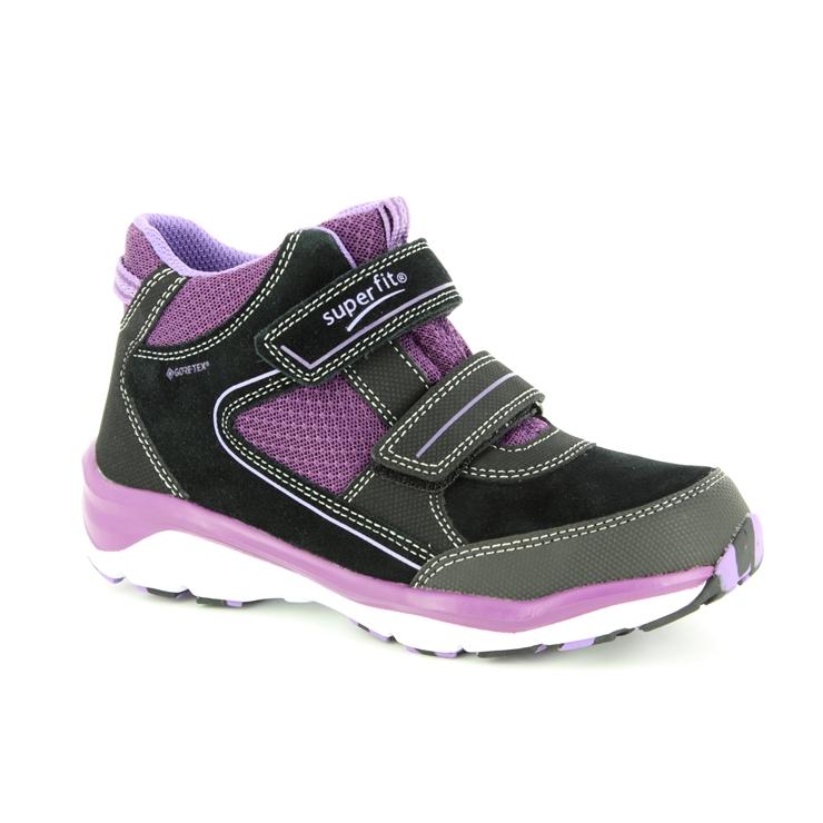 Utgivningsdatum bästa värde mode Superfit Sport5 Gtx Girl 09239-02 Black - purple boots