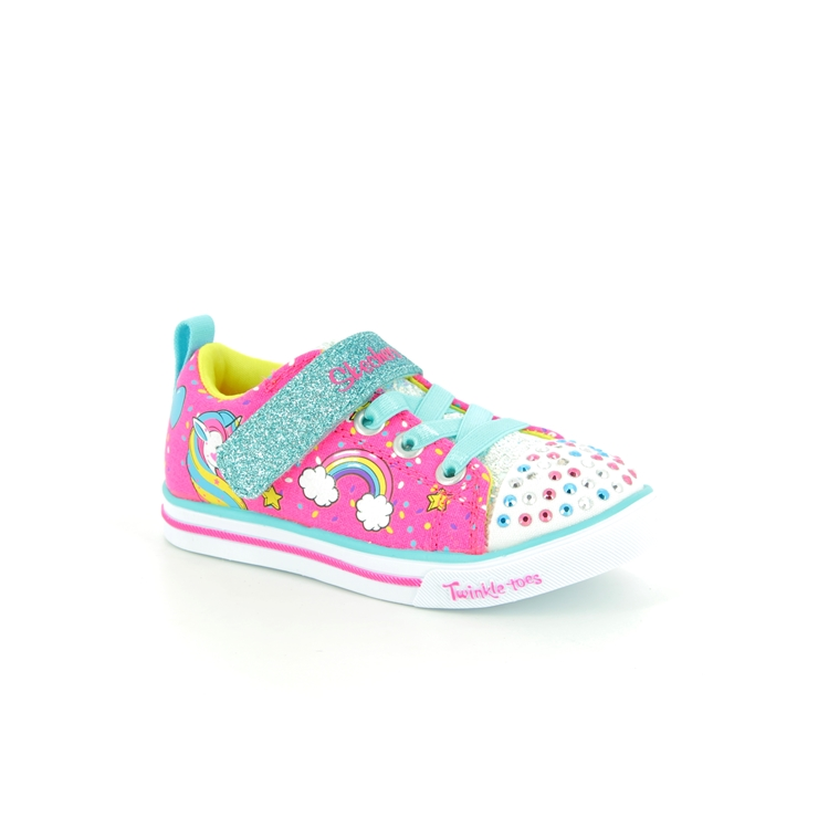 Skechers Unicorn Craze 10988 NPMT PINK MULTI first shoes