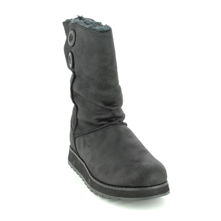 Skechers Keepsakes 2 0 44933 Blk Black Knee High Boots