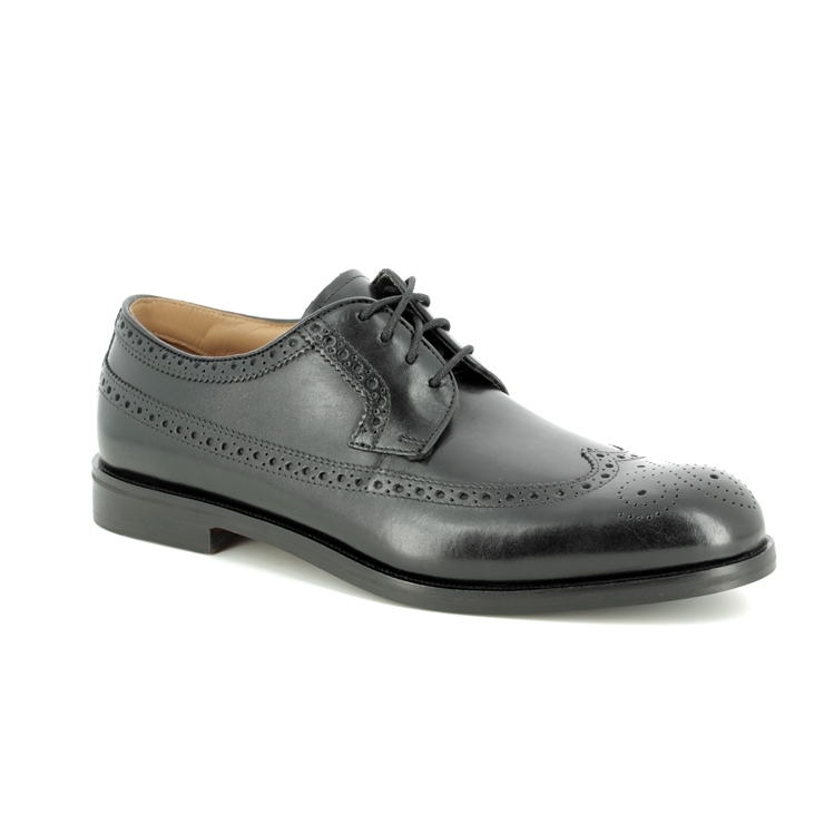 d595874496 Clarks Brogues - Black leather - 193768H COLING LIMIT ...