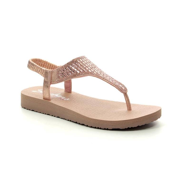 9b0655e6f4a Skechers Flat Sandals - Rose gold - 31560 MEDITATION ROCK CROWN ...