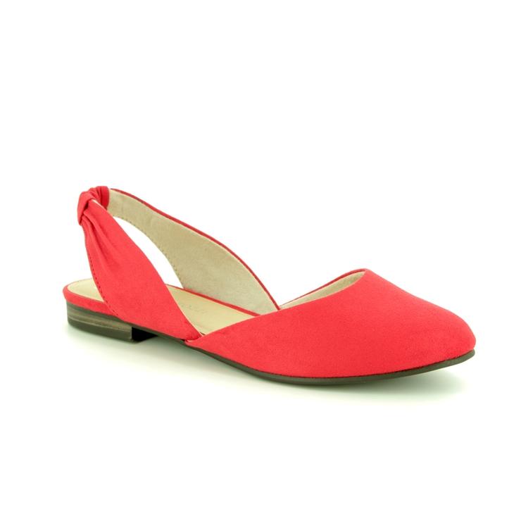 6f4c792772cd4 Marco Tozzi Closed Toe Sandals - Red - 29407/32/533 BRAVISLING ...