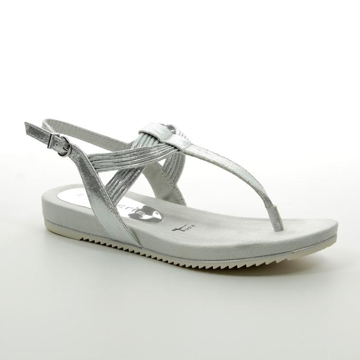 36d238954ff Tamaris Flat Sandals - Silver - 28107/22/941 LOCUSTI ...