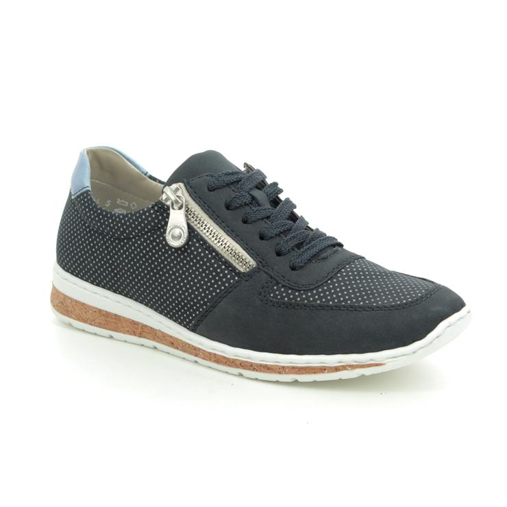 Womens Rieker N5121 Casual Lace-up Shoes