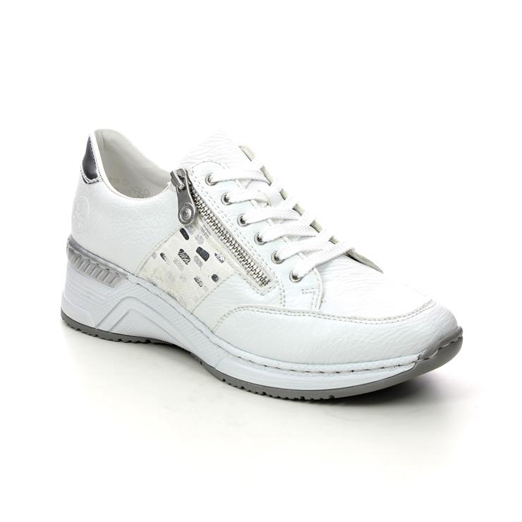 Rieker N4322-80 White trainers