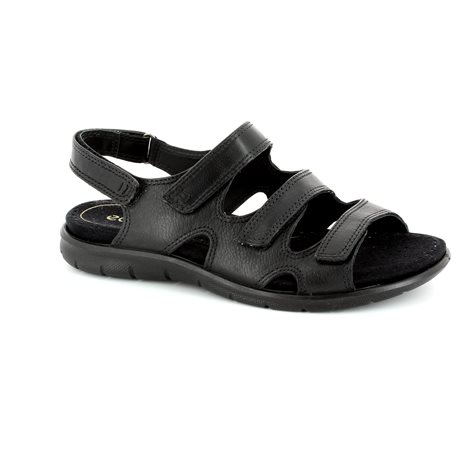 ECCO Babe Tri 214013-01001 Black sandals
