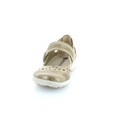 Remonte Livaso 41 R1704-64 Taupe multi lacing shoes