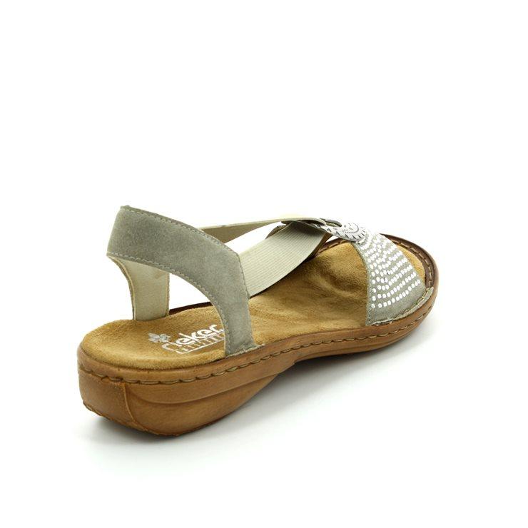 rieker 608y4 60 beige sandals. Black Bedroom Furniture Sets. Home Design Ideas