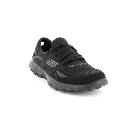 Skechers Gowalk  Stance Womens Lace Up Walking Shoes