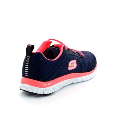 Skechers Flex Appeal Mf 11729 NVY Navy trainers