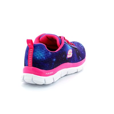 Skechers Color Clash 81884 BLU Blue trainers