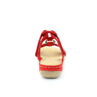Marco Tozzi Tangovel 27401-533 Red sandals