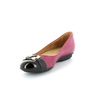 Ambition Paler 4409-49 Black/fuchsia combi pumps