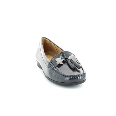 Ambition Misha 1113-27 Navy patent loafers