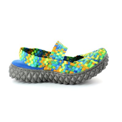 Adesso Laura A2802-90 Tropical effect trainers