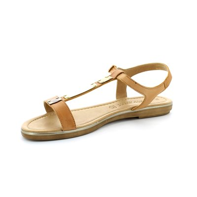 Marco Tozzi Ruta 28161-305 Tan sandals