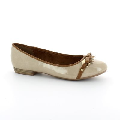 Marco Tozzi Lisit 22138-357 Taupe multi patent pumps