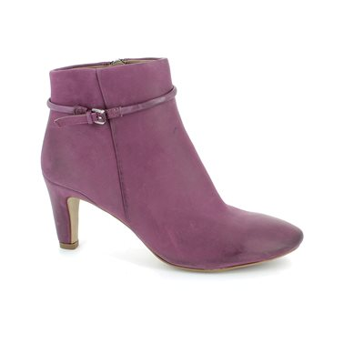 ECCO Lindon 355223-2113 Aubergine ankle boots
