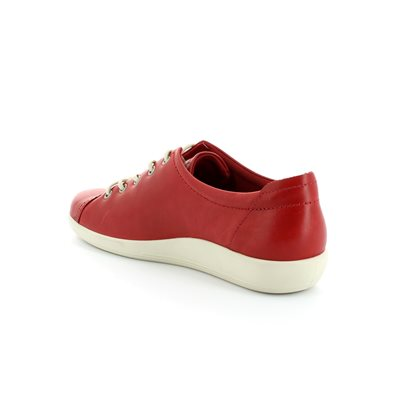 ECCO Also Softer 206503-01466 Red lacing shoes
