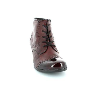 Remonte Murlace R9170-35 Dark Red ankle boots