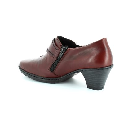 Rieker 57152-35 Wine shoe-boots