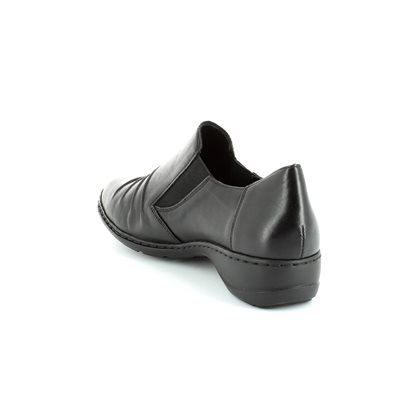 Rieker 58353-00 Black comfort shoes