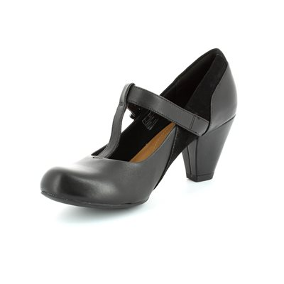 Clarks Coolest Lass Black high-heeled shoes
