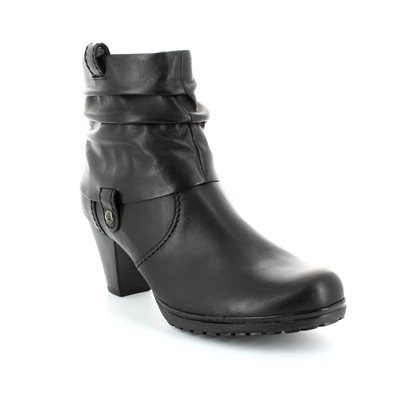 Gabor Collar 36.083.57 Black ankle boots