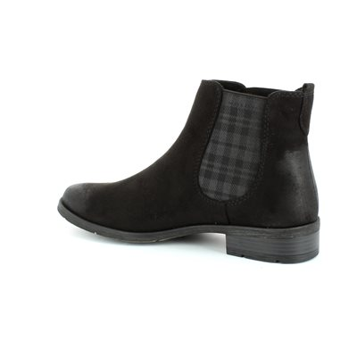 Marco Tozzi Rapalli 25321-991 Black ankle boots