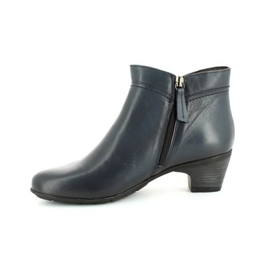 Relaxshoe Limapa 47719-70 Navy ankle boots