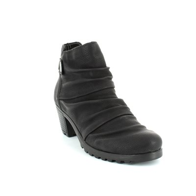 Rieker Y8063-01 Black ankle boots