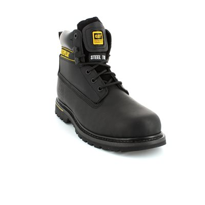 CAT Holton Safety 7080 Black boots