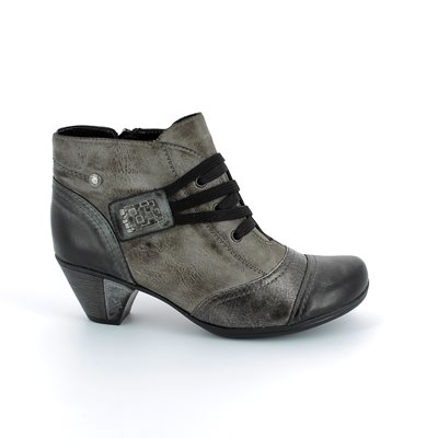 Remonte Anntang D1297-25 Grey multi ankle boots